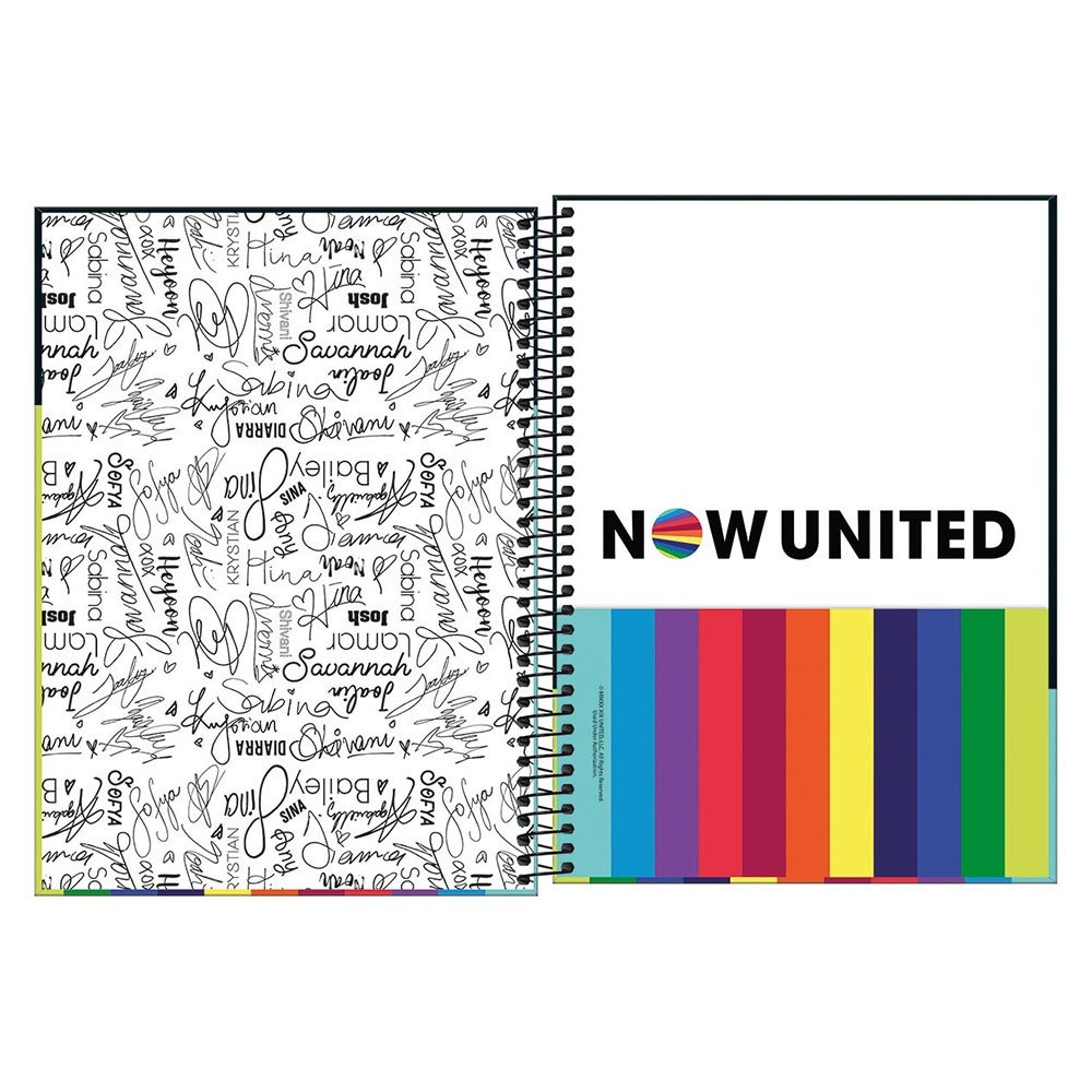 Caderno Universitário 10x1 CD 160 Folhas Now United 1 Tilibra  - INK House