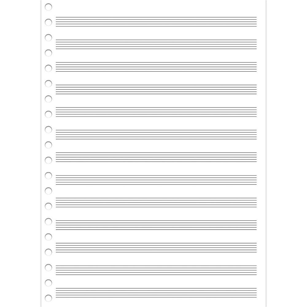 Caderno de Música Universitário CF 50 Folhas São Domingos