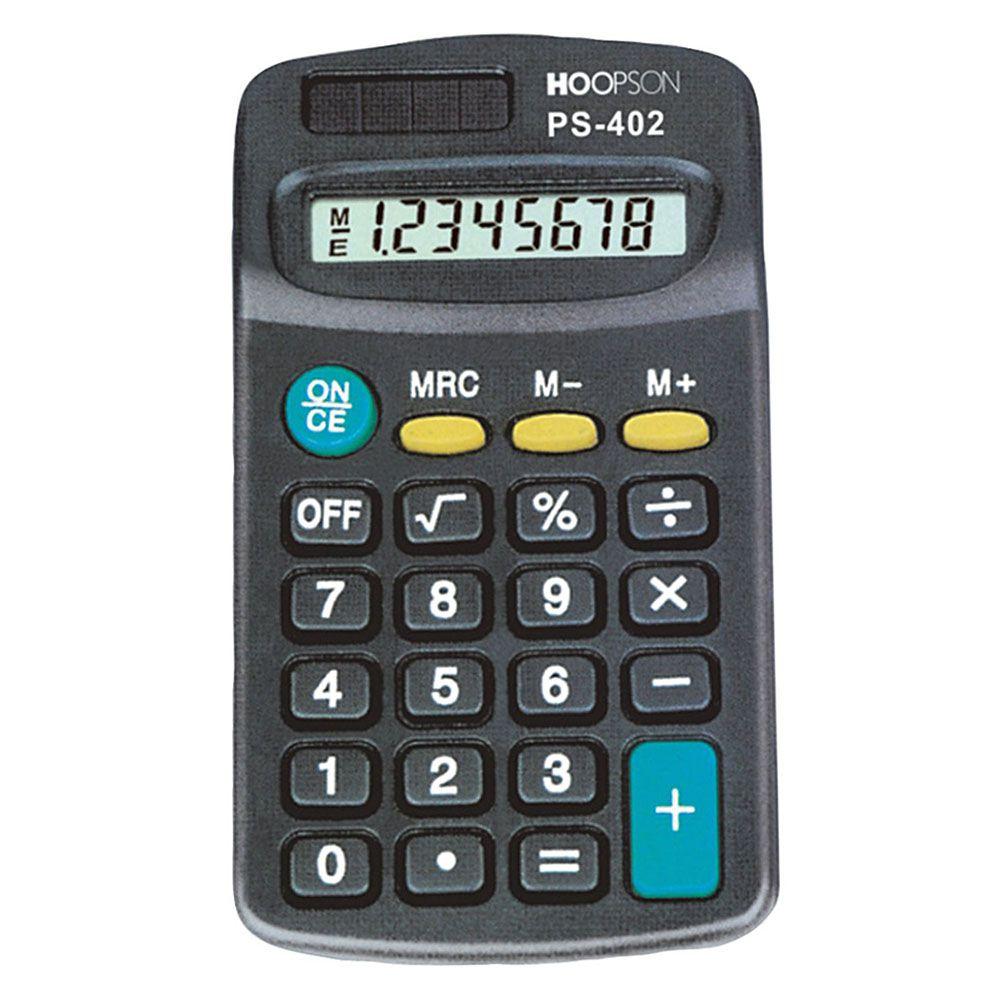 Calculadora de Bolso Hoopson PS-402  - INK House