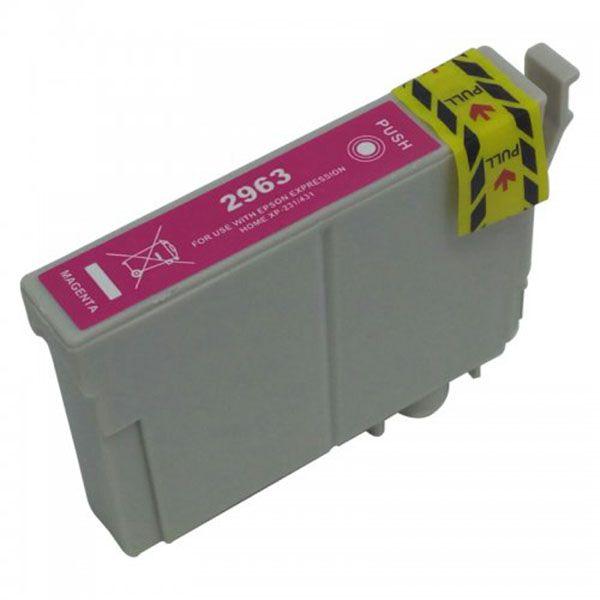 Cartucho Compatível Epson 296 T2963 T296320 XP231 XP241 XP431 XP441 - Magenta
