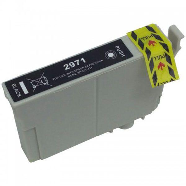 Cartucho Compatível Epson 297 T2971 T297120 XP231 XP241 XP431 XP441 - Preto