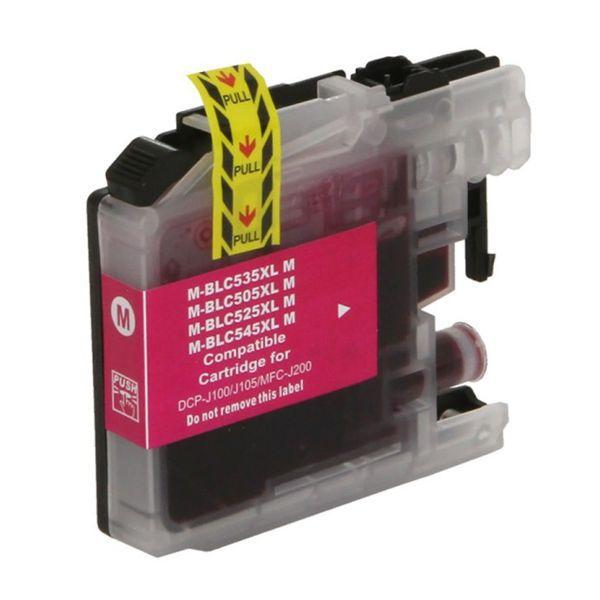 Cartucho Compatível Brother LC505 XXL LC-505M DCP-J100 DCP-J105 MFC-J200 - Magenta