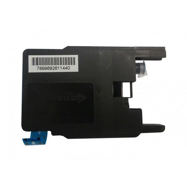 Cartucho Compatível Brother LC75 LC77 LC79 MFC-J280W MFC-J430W MFC-J432W - Ciano