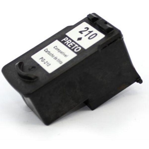 Cartucho Compatível Canon PG-210 MP240 MP250 MP260 MP270 MP280 MP480 MP490 MP495 - Preto  - INK House