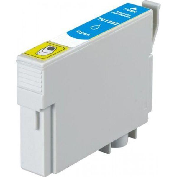 Cartucho Compatível Epson 133 T1332 T133220 T22 T25 TX120 TX125 TX135 TX320F TX430W - Ciano  - INK House