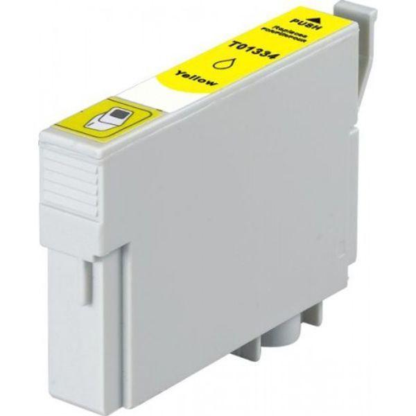 Cartucho Compatível Epson 133 T1334 T133420 T22 T25 TX120 TX125 TX135 TX320F TX430W - Amarelo