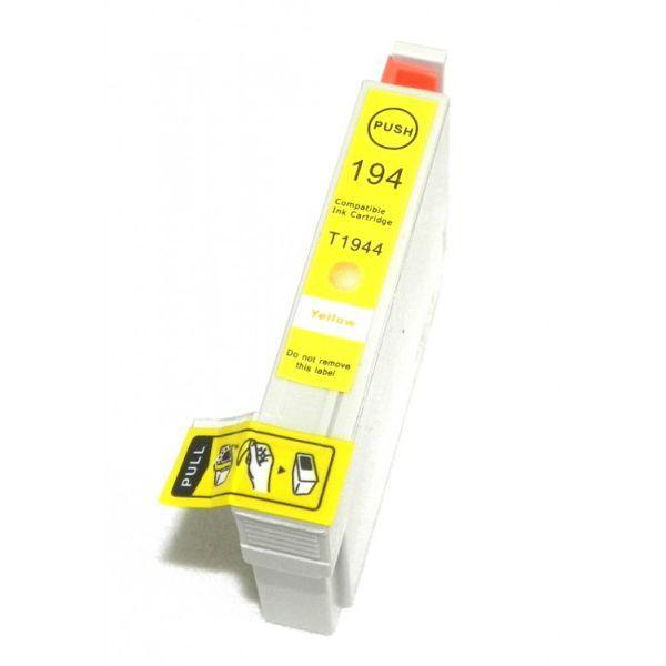 Cartucho Compatível Epson 194 T1944 T194420 XP104 XP204 XP214 - Amarelo  - INK House