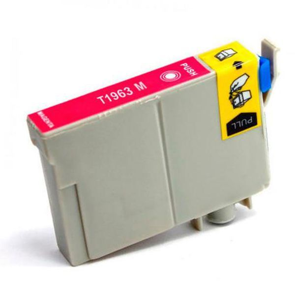 Cartucho Compatível Epson 196 T1963 T196320 XP101 XP201 XP214 XP401 XP411 - Magenta