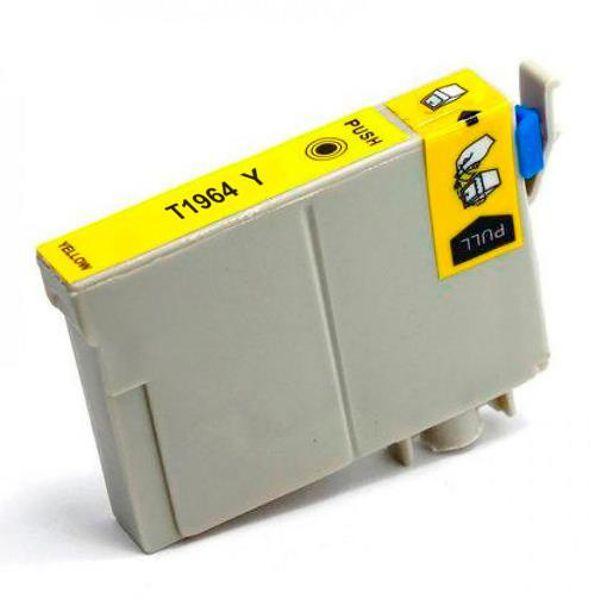 Cartucho Compatível Epson 196 T1964 T196420 XP101 XP201 XP214 XP401 XP411 - Amarelo  - INK House