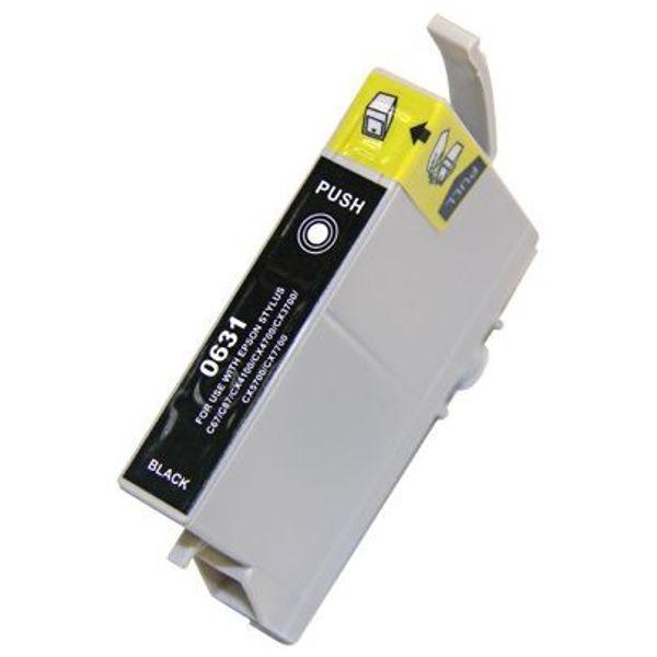 Cartucho Compatível Epson 63 T0631 T063120 C67 C87 CX3700 CX4100 CX4700 CX5700 CX7700 - Preto