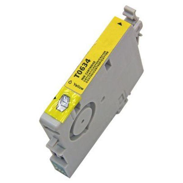 Cartucho Compatível Epson 63 T0634 T063420 C67 C87 CX3700 CX4100 CX4700 CX5700 CX7700 - Amarelo
