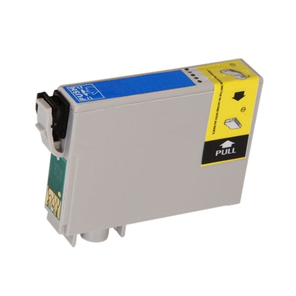 Cartucho Compatível Epson 73N T0732 T073220 T20 T21 T30 C79 C92 C110 CX3900 CX4900 TX100 TX400 - Ciano  - INK House