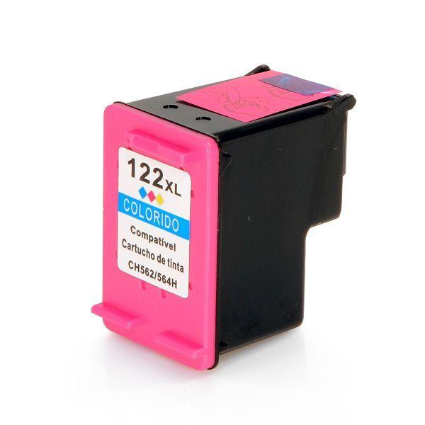 Cartucho Compatível HP 122XL CH562HB Colorido