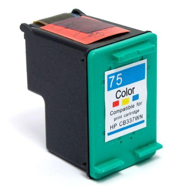 Cartucho de tinta HP 75XL CB338WB - Colorido - Compatível - INK House bec1cd2d843