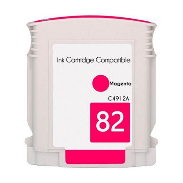 Cartucho Compatível HP 82 C4912A HP82 HP111 HP510 Magenta