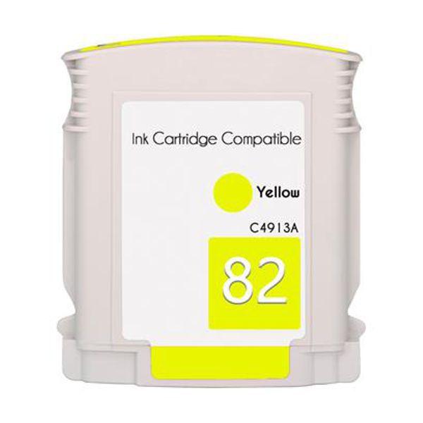 Cartucho Compatível HP 82 C4913A HP82 HP111 HP510 Amarelo