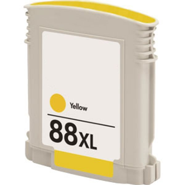 Cartucho Compatível HP 88XL C9393A Amarelo