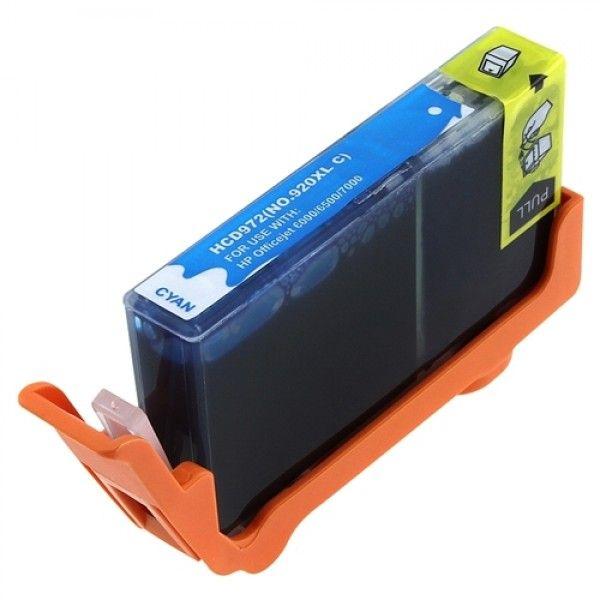 Cartucho Compatível HP 920XL CD972AL Ciano  - INK House