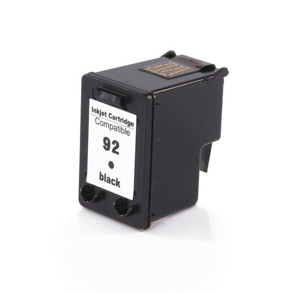 Cartucho Compatível HP 92 C9362WB Preto