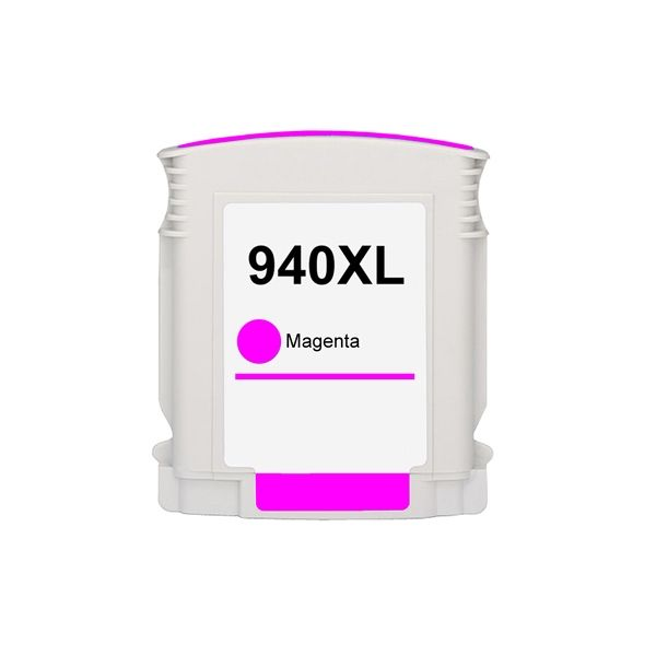 Cartucho Compatível HP 940XL C4908AB Magenta  - INK House