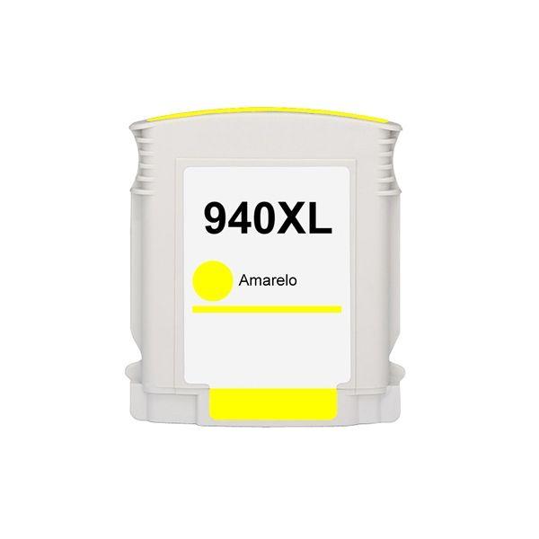 Cartucho Compatível HP 940XL C4909AB Amarelo