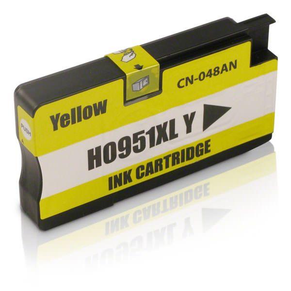 Cartucho Compatível HP 951XL CN048AN Amarelo  - INK House