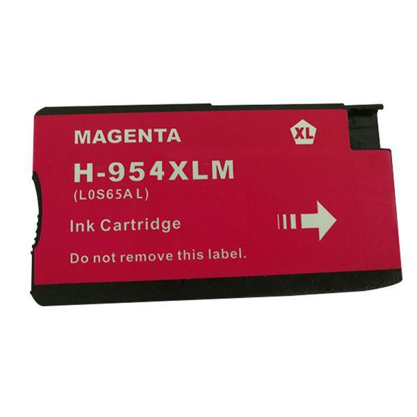 Cartucho Compatível HP 954XL L0S65AB 7740 8210 8710 8720 8730 8740 Magenta  - INK House