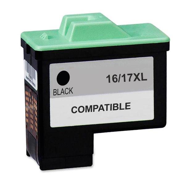 Cartucho Compatível Lexmark 16/17XL 10N0016/10N0217 Preto  - INK House