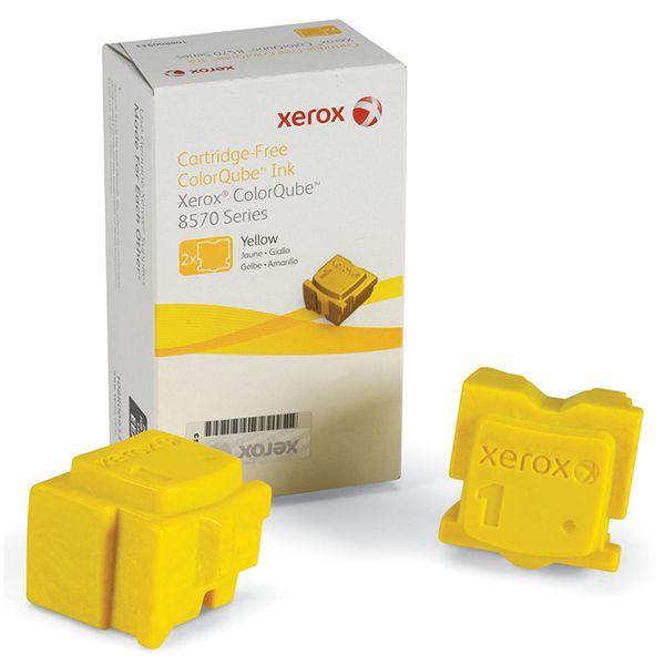 Cera Original Xerox Colorqube 8570 8580 108R00938 - Amarela - Caixa c/ 2 unidades  - INK House