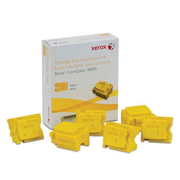 Cera Original Xerox Colorqube 8900 108R01024 - Amarela - Caixa c/ 6 unidades  - INK House