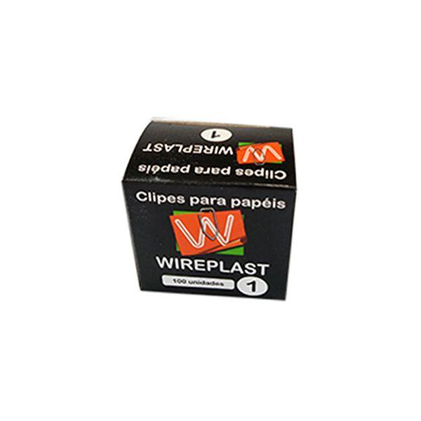 Clips nº 1 Galvanizados Caixa c/ 100 unidades Wireplast  - INK House