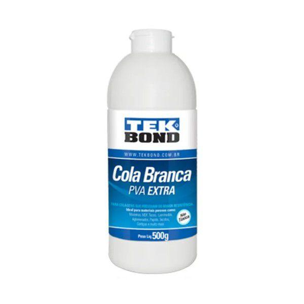 Cola Líquida Branca PVA Extra 500g Tekbond