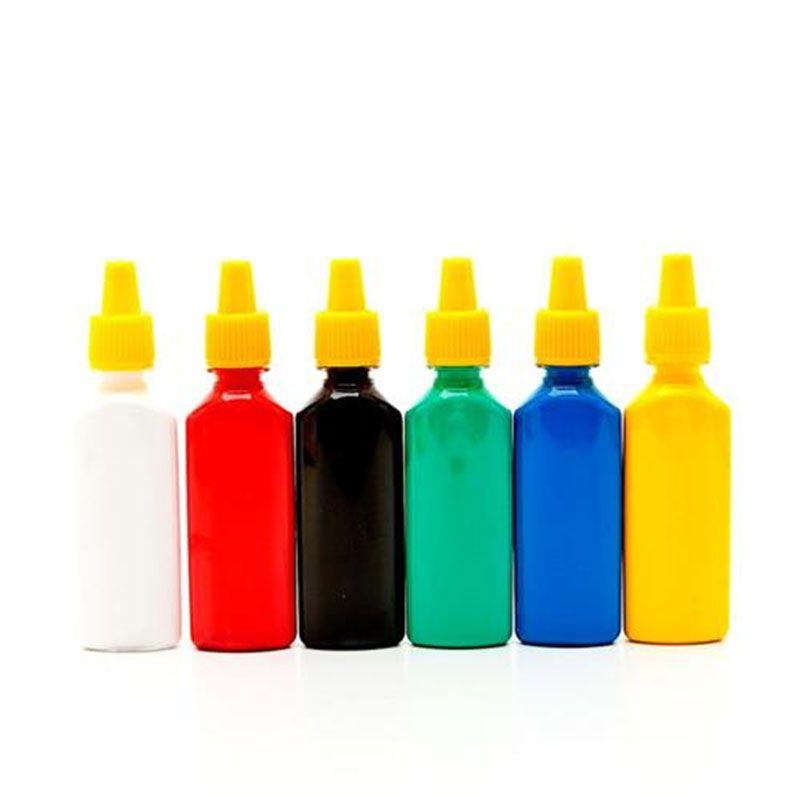 Cola Colorida 6 Cores Acrilex  - INK House