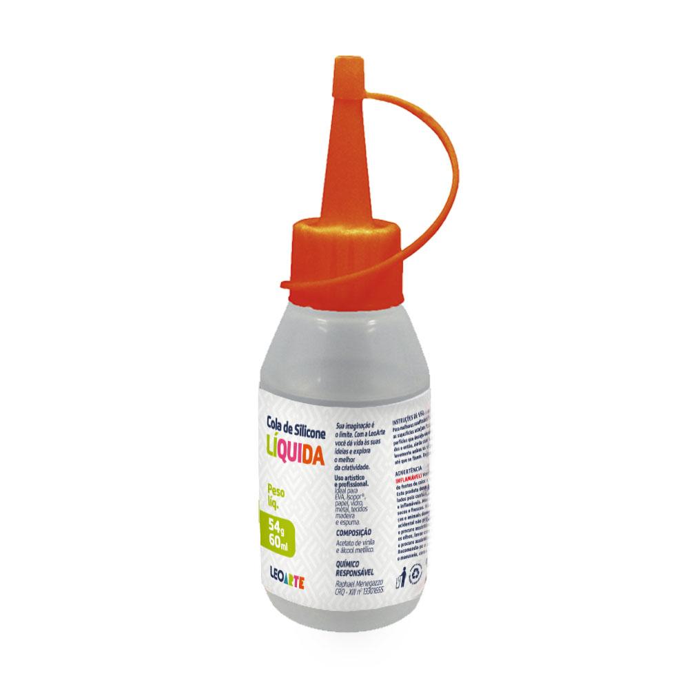 Cola de Silicone Líquida 60ml Leoarte