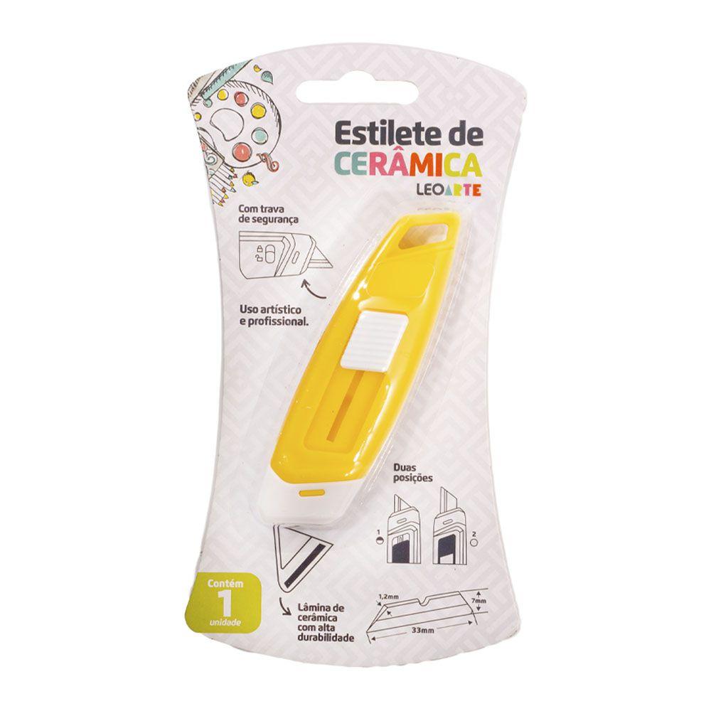 Estilete de Cerâmica Amarelo Leoarte  - INK House