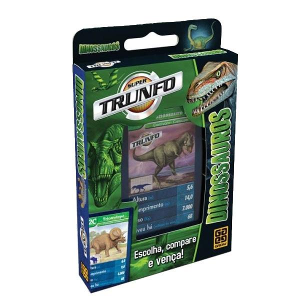 Jogo Super Trunfo Dinossauros Grow  - INK House