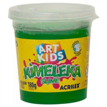 Kimeleka Slime 180g Verde Acrilex