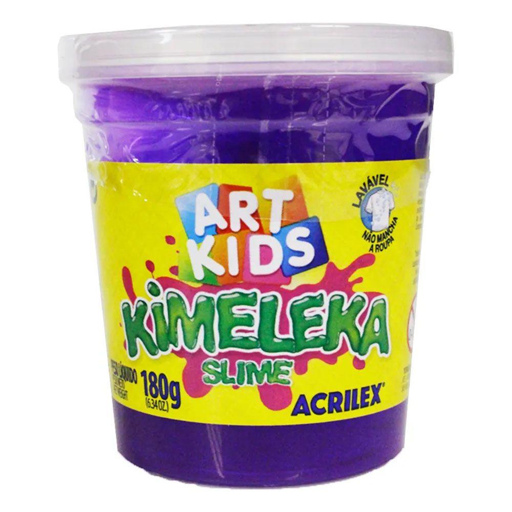 Kimeleka Slime 180g Violeta Acrilex
