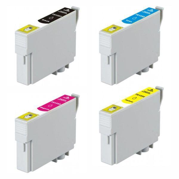 Kit Cartucho Compatível Epson 133 TX125 TX135 TX235 TX320 TX420 TX430  - INK House