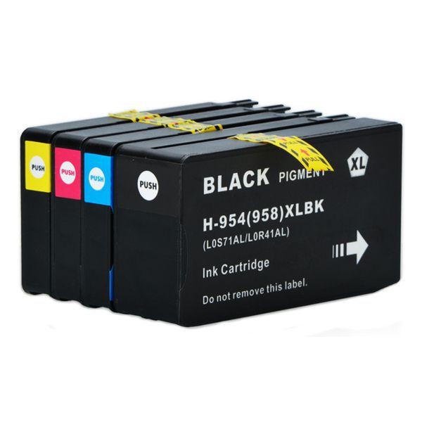Kit Cartucho Compatível HP 954XL 958XL 7740 8210 8710 8720 8730 8740  - INK House