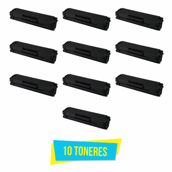 Kit com 10 Toner Compatível Samsung MLT-D101S D101S D101 ML2160 ML2165 SCX3400 SCX3405 SF760  - INK House