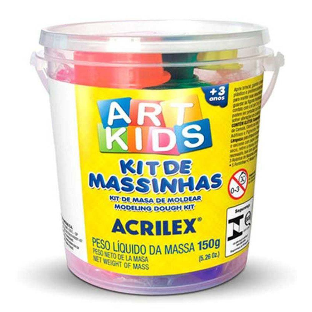 Kit de Massinhas Artkids 150g Acrilex  - INK House