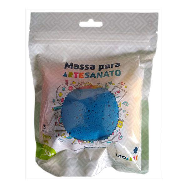 Kit Massa para Artesanato Lisa Cores Primárias 50g Leonora  - INK House