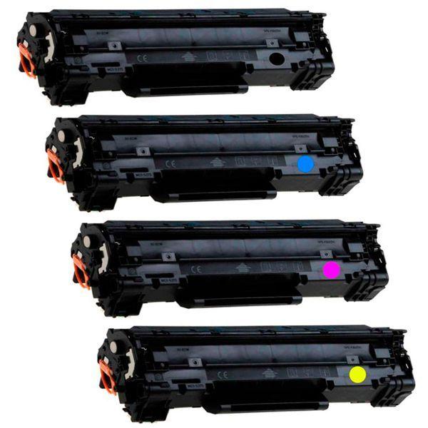 Kit Toner Compatível HP 201X CF400X CF401X CF402X CF403X  - INK House