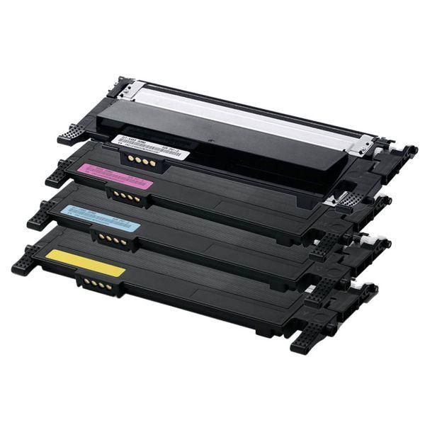 Kit Toner Compatível Samsung CLT-K406S CLT-C406S CLT-M406S CLT-Y406S CLP360 CLP365 CLX3305 C460W  - INK House