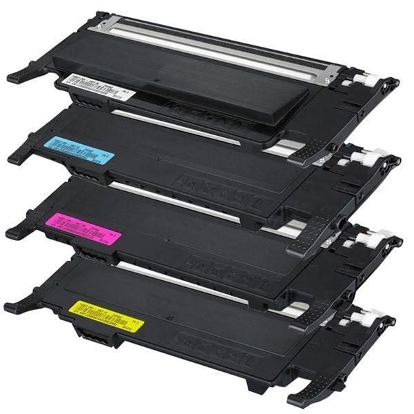 Kit Toner Compatível Samsung CLT-K407S CLT-C407S CLT-M407S CLT-Y407S CLP320 CLP325 CLX3285  - INK House