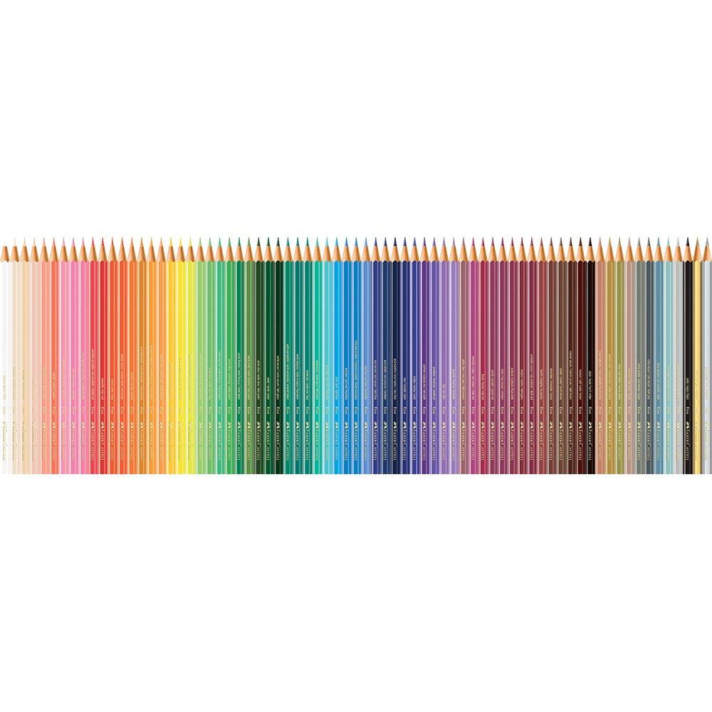 Lápis de Cor 72 Cores Faber-Castell