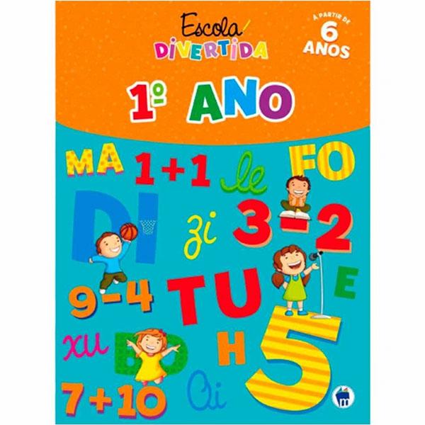 Livro Escola Divertida 1º Ano Magic Kids