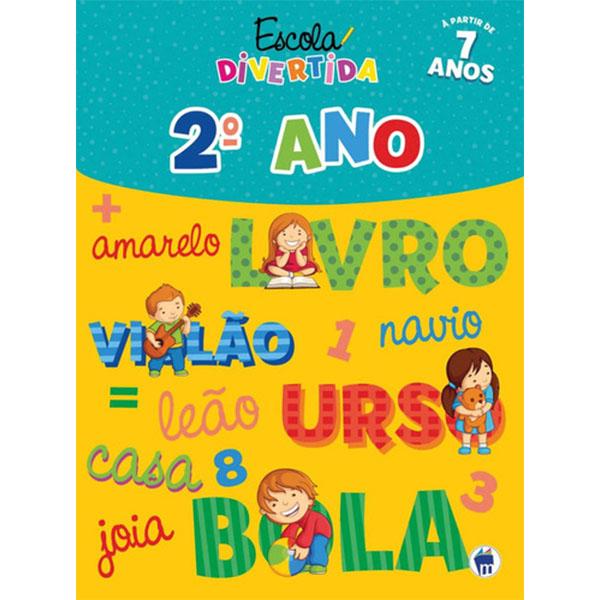 Livro Escola Divertida 2º Ano Magic Kids