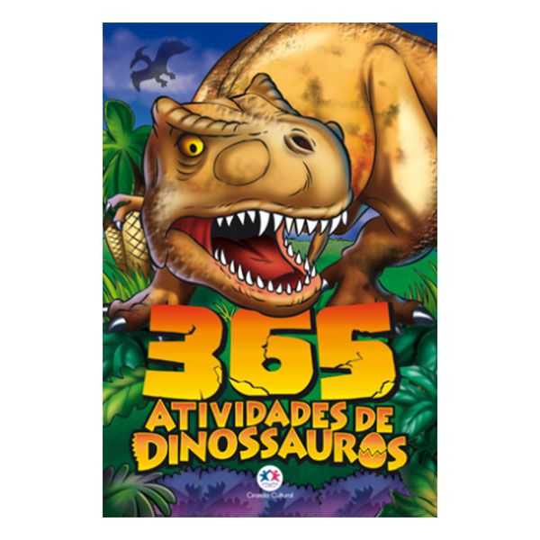 Livro Infantil 365 Atividades de Dinossauros Ciranda Cultural